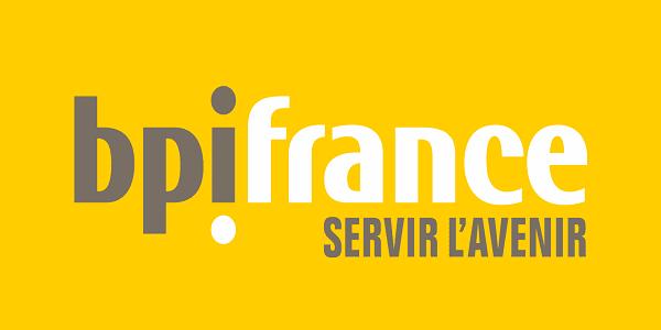 Logo jaune BPI France