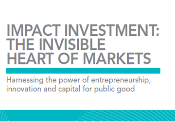 Impact investment_the invisible heart of markets